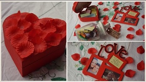 Идеи за подаръци за Свети Валентин, които да направите сами (видео)