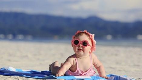 Какво да правим, ако детето се страхува от морето