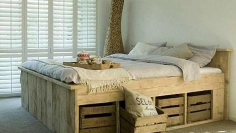 Под леглото - отлично място за съхранение (галерия)