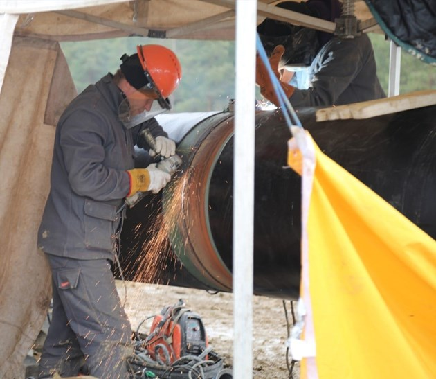 Фирмата, която строи газовата връзка с Гърция, отрича за нарушения
