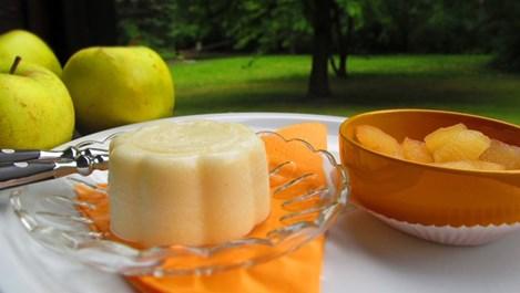 Лимонов крем пудинг