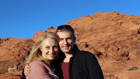 Анастасия Лютова и Пенко Господинов - заедно на екрана, на сцената и в живота