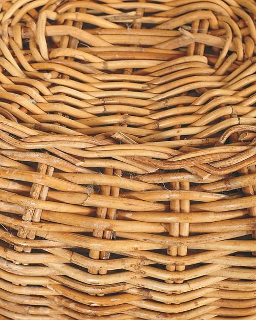 Как да почистим плетените кошници