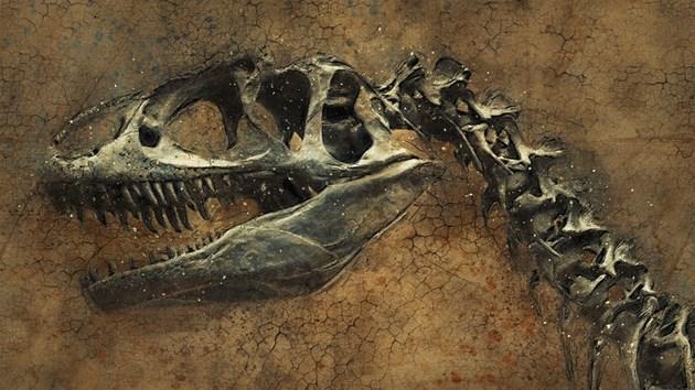 Учени кръстиха отпечатък от динозавър на момиченцето, което го откри