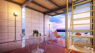Два етажа в 27 кв. м (галерия)