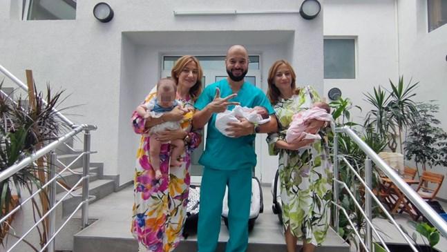 Близначки родиха 3 деца за 4 месеца