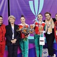 Боряна Калейн спечели всички златни медали в Румъния