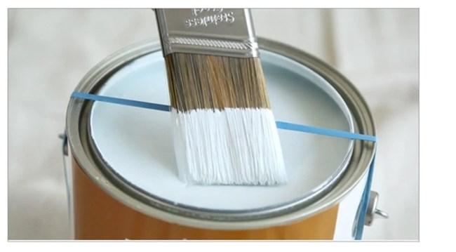 По време на ремонт ластичетата са много полезни, особено, когато боядисвате с четка.