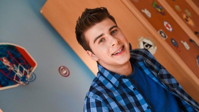Мартин - синът на семейството в сериала и синът на Албена Михова в живота