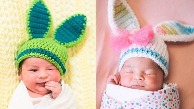 Болница изписва бебетата като Великденски зайчета