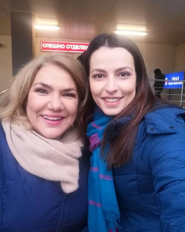 Марта Вачкова се сополиви на снимки