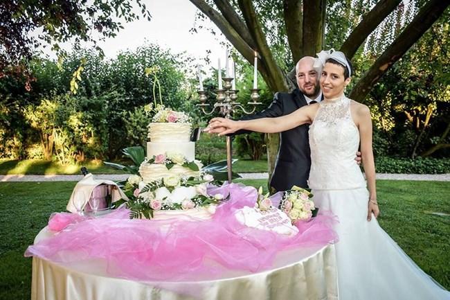 Елиза сключва брак с бащата на детето си малко преди да умре. Снимки Фейсбук