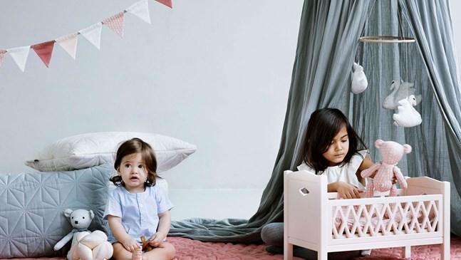 Хюга  стил в бебешката и детска стая