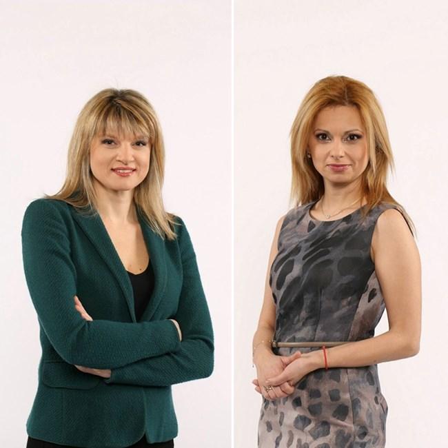 Поли Златарева (вляво) и Аделина Радева