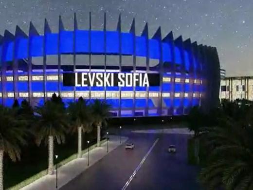 """Диксън представи новия стадион на """"Левски"""""""