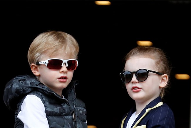 Близнаците принц Жак и принцеса Габриела