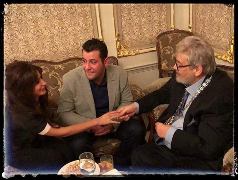 Будинов и съпругата му заедно с покойната легенда на киното и театъра Стефан Данаилов