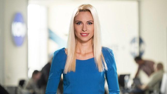 Василена Гръбчева от Нова тв роди момиченце