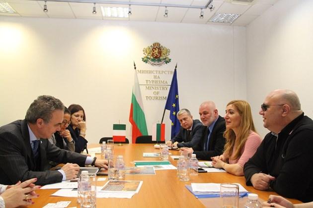Ангелкова: Италия е сред важните ни икономически и туристически партньори