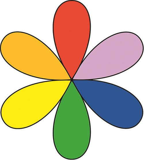 Цветният кръг – помощник в градината