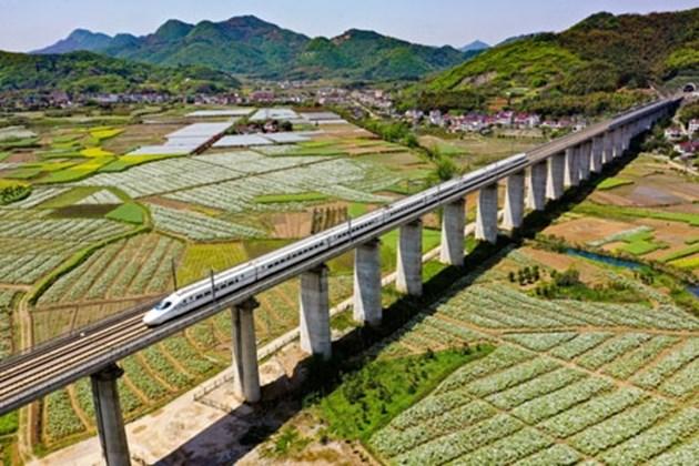 Инвестициите в железниците в Китай остават стабилни през първото полугодие