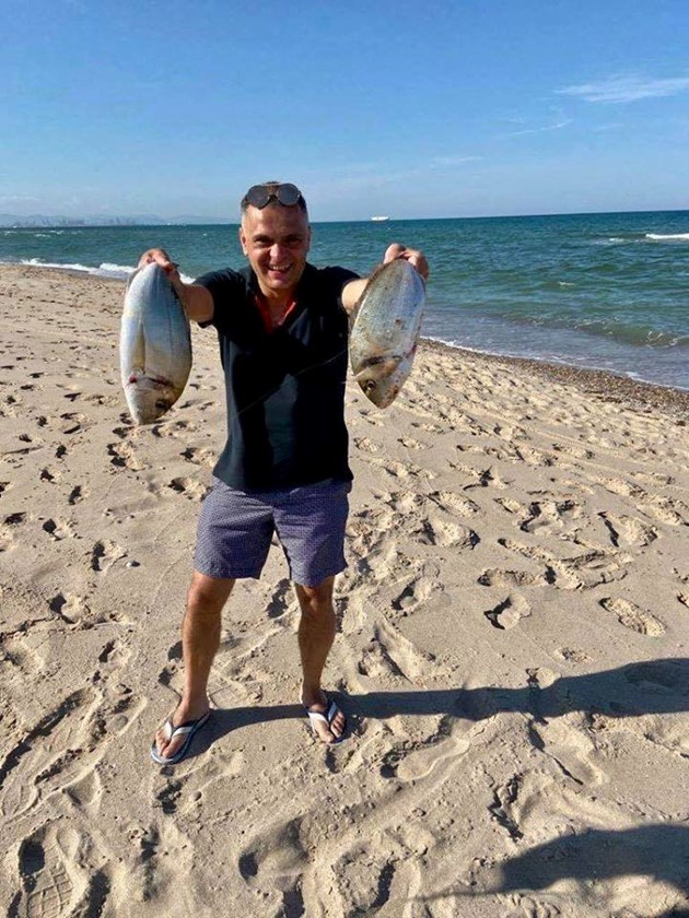Цигуларят Васко изби рибата
