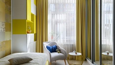Позитивно жълто в малкото жилище (галерия)