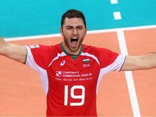 Най-добрият български волейболист смени номера в новия си руски тим