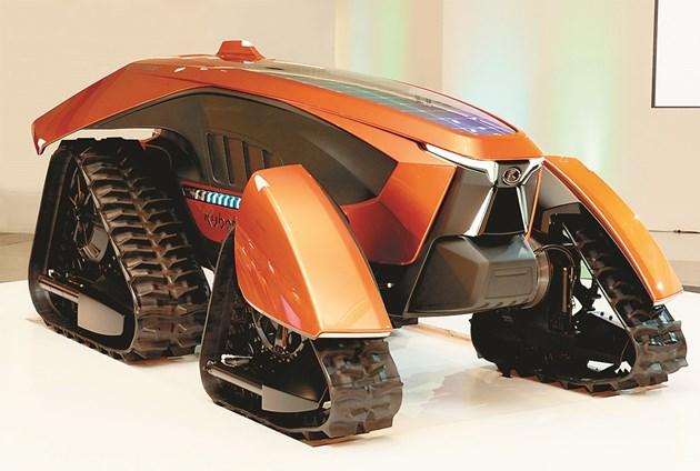 Kubota вече представи концептуален автономен трактор