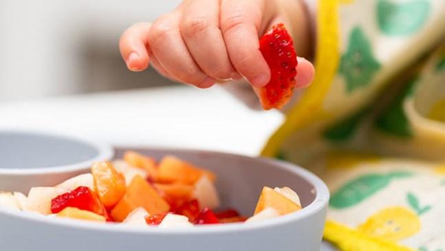 Хранете бебето по цветове