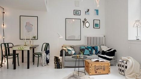 Уголемете малкото жилище с цвят (галерия)