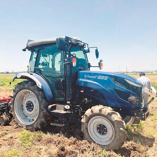 Тракторът без механизатор на Iseki TJV655