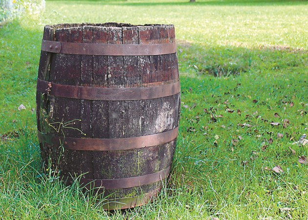 Докато водата не стане бистра и без мирис, бъчвата не е изчистена
