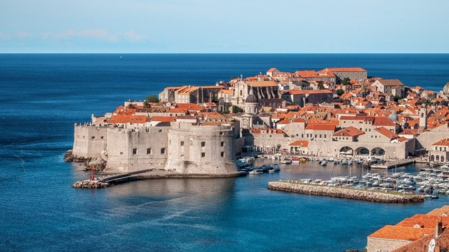 Кралски чертог - Дубровник, Хърватия
