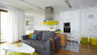 Съчетание на цветове в жилището (галерия)