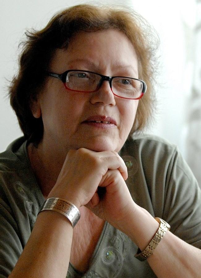 Величка Маркова - съпруга на Георги Аспарухов. СНИМКА: НАЙДЕН ТОДОРОВ