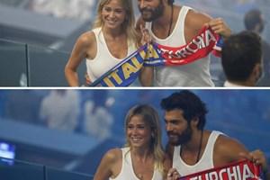 Мир и любов след 3:0 при най-известната италианско-турска двойкa