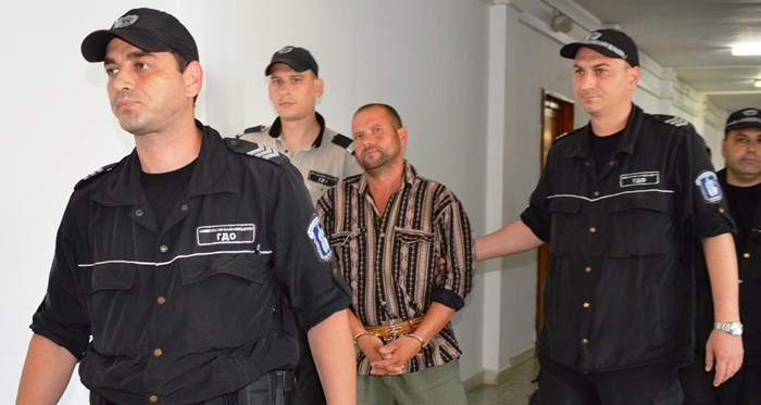 Динко Вълчев в съда. Снимка:Елена Фотева