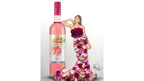 Вина от колекцията на New Bloom Winery вдъхновиха модния илюстратор Едгар Артис