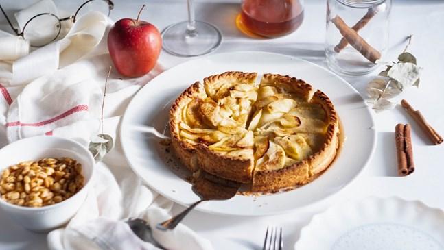 Лесен за приготвяне ябълков тарт