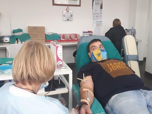 Без PCR тест за дарителите на кръвна плазма в УМБАЛ-Бургас