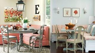 Уютни идеи за кухненския ъгъл (галерия)