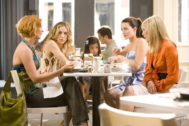 """кадър от """"Сексът и градът"""", Darren Star Productions, Home Box Office (HBO)"""