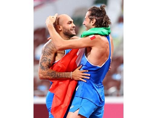 Медалистите на олимпиадата от 1 август