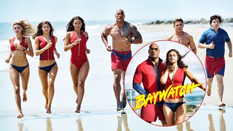 "Сериалът ""Спасители на плажа"" порасна и стана филм (снимки и видео)"