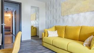 Идеи за използване на сиво и жълто в декора