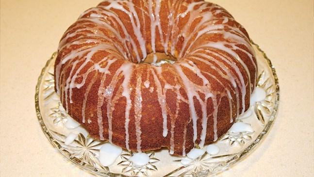 Кекс с портокалови и лимонови кори