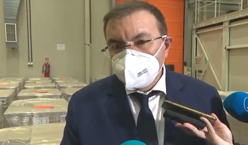 Здравният министър Костадин Ангелов