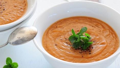 Крем-супа от леща с джинджифил