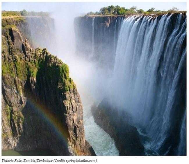 Водопадите Виктория, между Замбия и Зимбабве Снимка: forbes.com